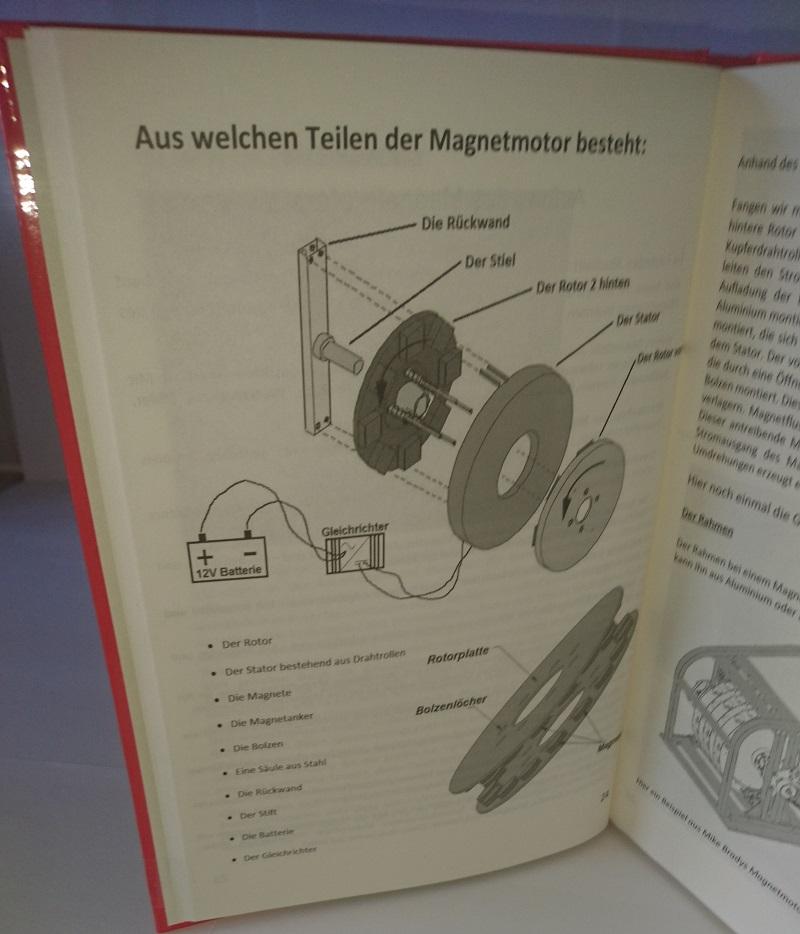 magnetmotor freie energie selber bauen hardcover buch generator perpetuum mobile ebay. Black Bedroom Furniture Sets. Home Design Ideas