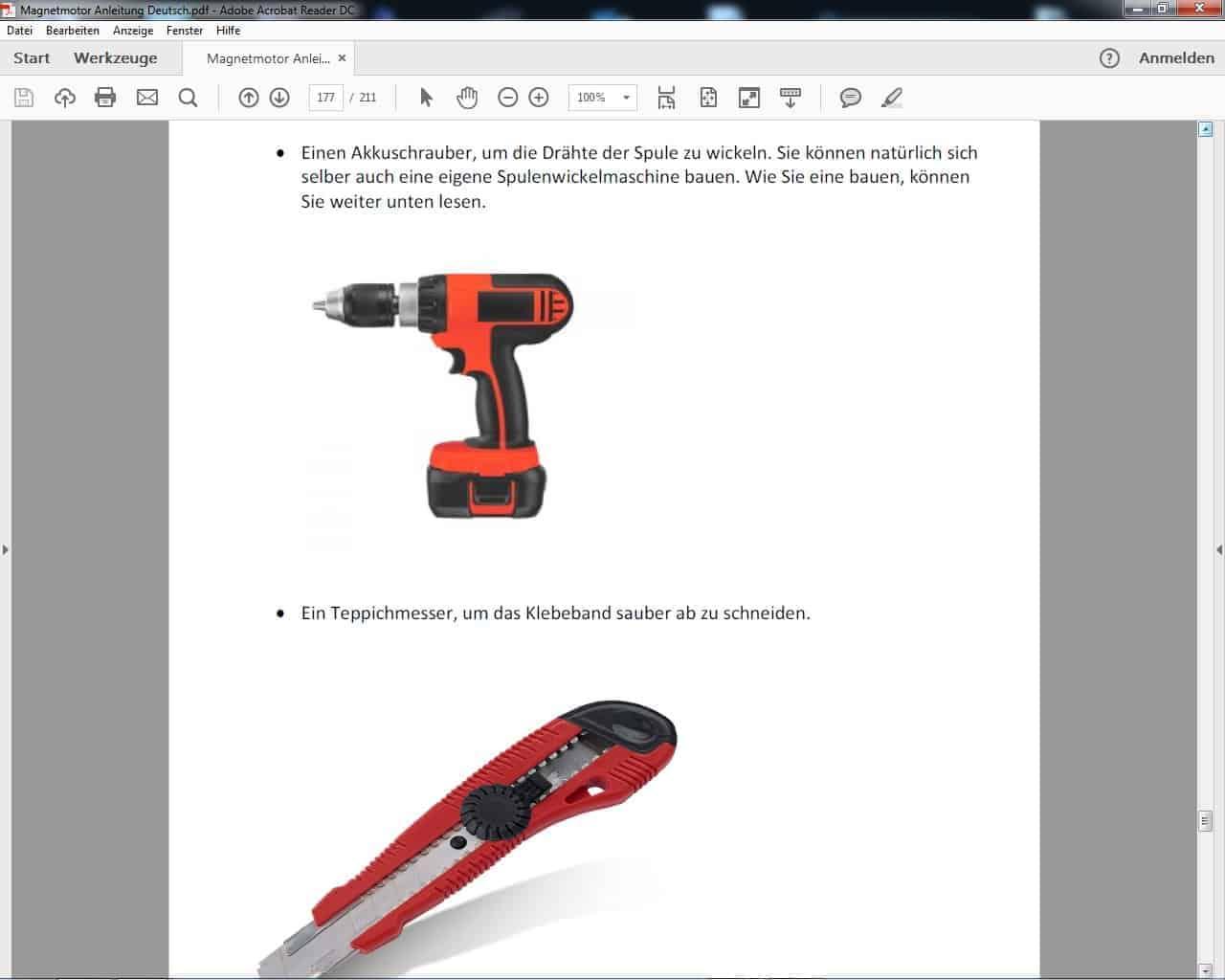 Leicht verständliche Anleitungen als PDF